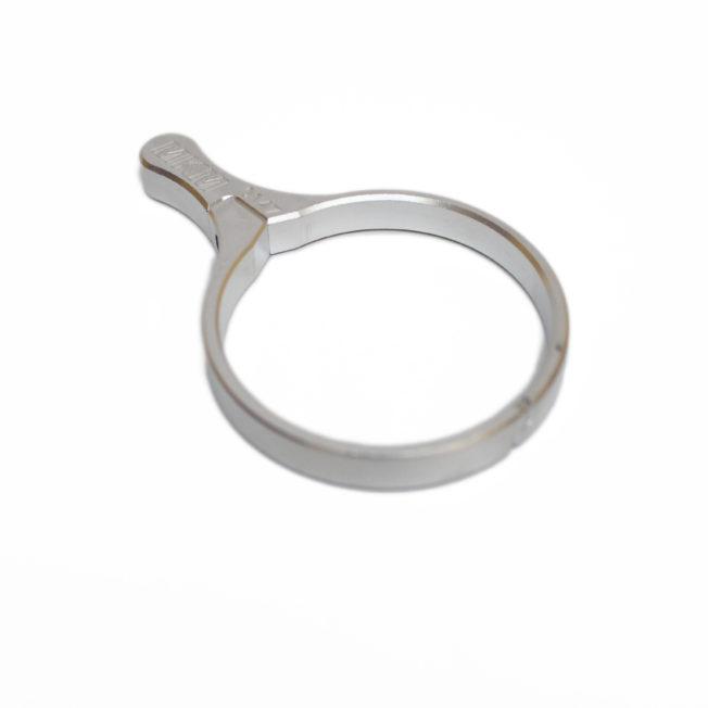 aluminum throw lever