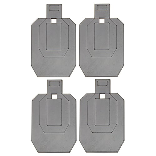 AR500 Etched IPSC Steel Target Packages